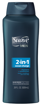Suave Men® Professionals 2 in 1 Ocean Charge Shampoo and Conditioner
