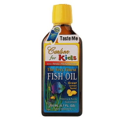 Carlson for Kids The Very Finest Fish Oil for Kids