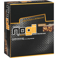 Nogii Hasselbeck's Chocolate Peanut Butter Caramel Crisp Super Protein Bars