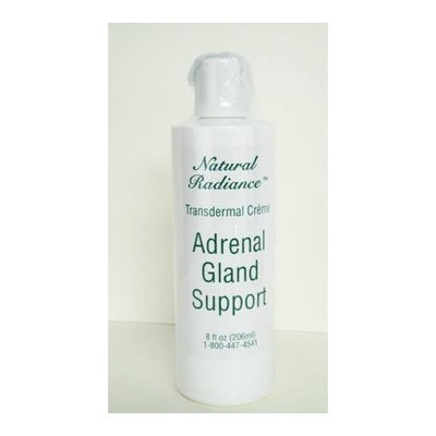 Natural Radiance Adrenal Gland Support 8 oz. Bottle - Unscented (Paraben-Free & Mineral Oil Free)