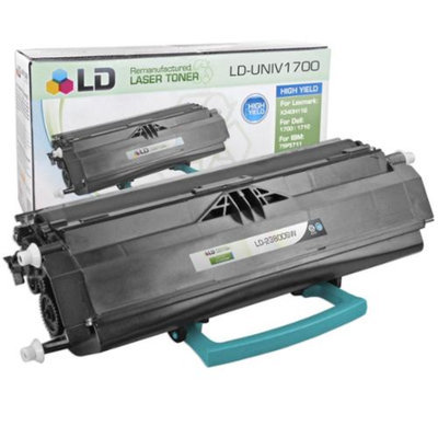 LD Compatible High Yield Black Laser Toner Cartridge for Lexmark 23800SW (E238 Series Printers)