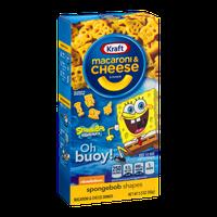 Kraft Macaroni & Cheese Dinner Spongebob Shapes
