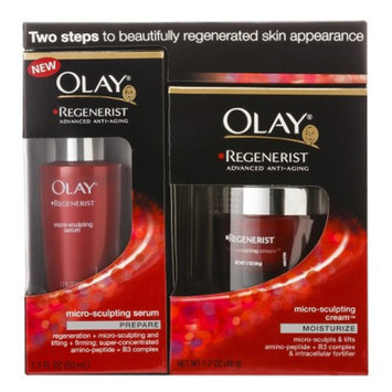 Olay Regenerist Microsculpting Cream & Serum Duo Pack