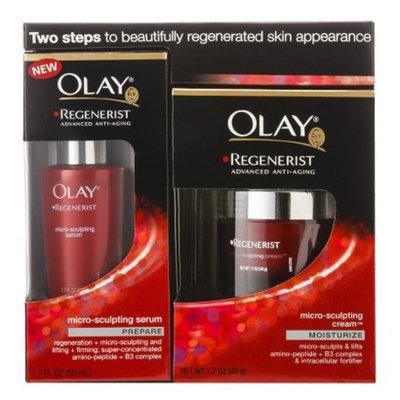 Olay Regenerist Microsculpting Cream & Serum Duo Pack