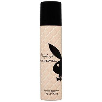 Playboy Play It Lovely Women Deodorant Spray, 2.5 Ounce