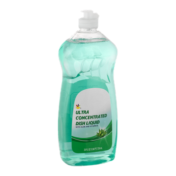Ahold Ultra Concentrated Dish Liquid with Aloe and Vitamin E