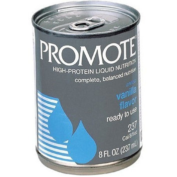 Promote High-Protein Liquid Nutrition, Ready to Use, Vanilla, Case of 24 Cans- each 8 Ounces