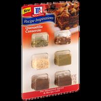 McCormick® Quesadilla Casserole Pre-Measured Spices & Recipe Card