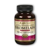 Bromelain Natural Pineapple Enzyme (Vegetarian) LifeTime 60 Tabs