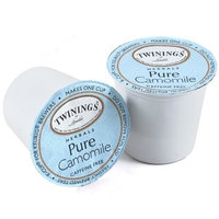 Twinings Pure Camomile Tea, 24-Count K-Cups For Keurig Brewers (Pack of 2)