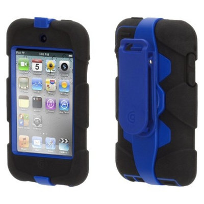 Griffin Survivor Case for iPod Touch 4th Generation - Black/Blue
