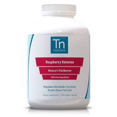 Trusted Nutrients 100-percent Pure Raspberry Ketones (60 Capsules)