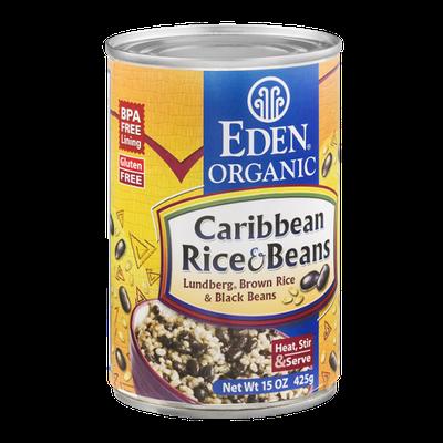 Eden Organic Caribbean Rice & Beans