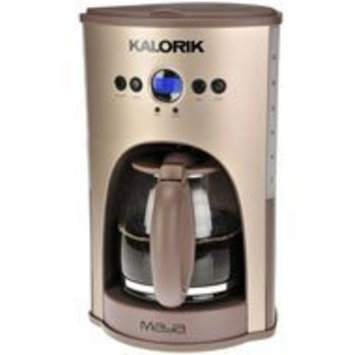 Kalorik Programmable 12-Cup Coffee Maker Stainless Steel, MAYA