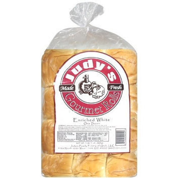 Judys Gourmet Rolls Judy's Gourmet Enriched White Rolls, 1.5 lbs