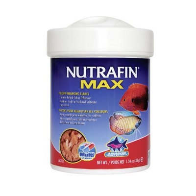 Hagen Nutrafin Max Color Flakes, 1.34-Ounce