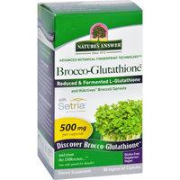 Nature's Answer - Brocco-Glutathione - 60 Vegetarian Capsules