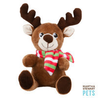 Martha Stewart PetsA Reindeer Holiday Dog Toy