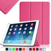Fintie iPad Air 2 Case - Ultra Slim Stand Case with Auto Wake / Sleep Feature for Apple iPad Air 2 (iPad 6), Magenta