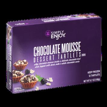 Simply Enjoy Dessert Tartlets Chocolate Mousse - 12 CT