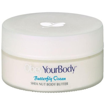 Obey Your Body Dead Sea Minerals Shea Nut Body Butter - Optimal Indulgence -Ocean fragrance