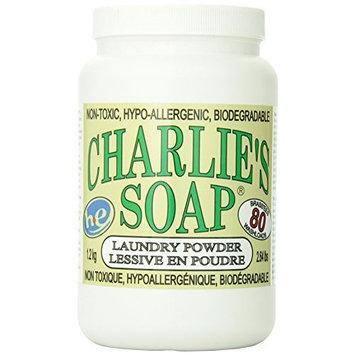 Charlie's Soap Laundry Powder Jar, 2.64lbs - 100 Standard/80 Large Loads - 41701