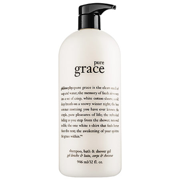 philosophy Pure Grace Foaming Bath and Shower Gel 32 oz