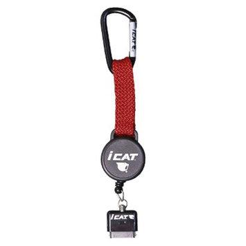iCat Reel iT Retractable Reel Leash for iPhone - Red (11018CP-C21)