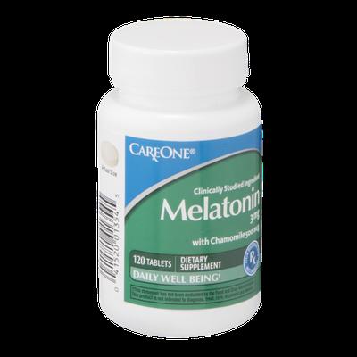 CareOne Melatonin Tablets 3 mg - 120 CT