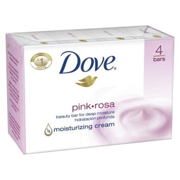 Dove Bar Soap 4-pk. - Pink