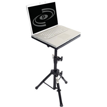 PylePro PLPTS2 Pro DJ Laptop Tripod Adjustable Stand for Notebook Computer