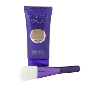 Physicians Formula Youthful Wear Cosmeceutical Youth-Boosting Foundation + Brush