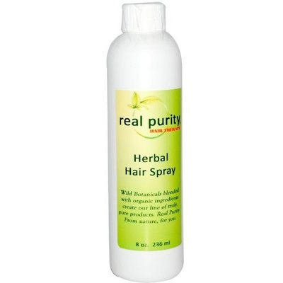 Real Purity Hair Therapy, Herbal Hair Spray, 8 oz (236 ml)