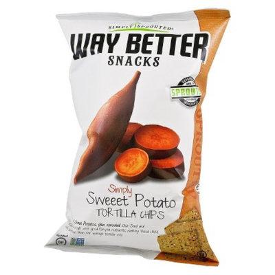 Live Better Brands, LLC. Way Better Sweet Potato Tortilla Chips 5.5 oz