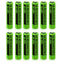 VTech Replacement Battery (12-Pack) NiMh AA Batteries 2-Pack for Vtech Phones