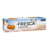 Fresca Peach Citrus Sparkling Flavored Soda