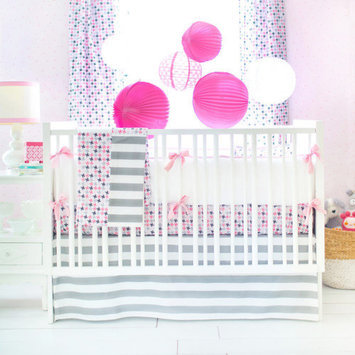 New Arrivals Paper Moon 4 Piece Crib Bedding Set