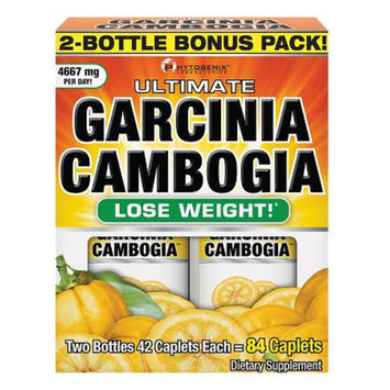 PhytoGenix Garcinia Cambogia (Twin Pack), Caplets