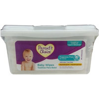Nice Pak Parent's Choice Baby Wipes, Fragrance Free, 80ct Box, Compare to Huggies Natural Care