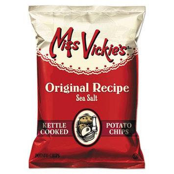 Frito-lay Inc. Kettle Cooked Sea Salt Potato Chips, 1.375 oz Bag, 64/Carton