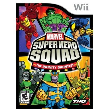 THQ Marvel Super Hero Squad: The Infinity Gauntlet (Nintendo Wii)