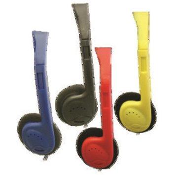 Avid Technology AE-711BLUE On-Ear Headphones Blue