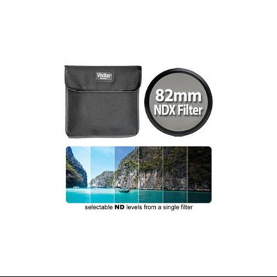Vivitar Series 1 Variable Range Neutral Density Filter 82mm