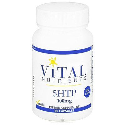 Vital Nutrients, 5HTP 100 mg 60 Capsules