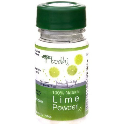 Bodhi Natural Snacks Lime Powder, 3-Ounce Bottles (Pack of 6)
