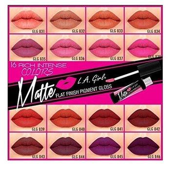 L.A. Girl Matte Pigment Lip Gloss 845 Stunner [Stunner]