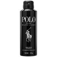 Ralph Lauren Polo Black Deodorant Body Spray 6 oz