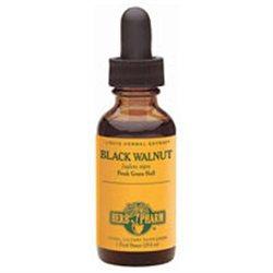 Black Walnut Extract Liquid, 4 oz, Herb Pharm