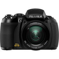 Fujifilm HS10 Black 10MP Digital Camera w/ 30x Optical Zoom