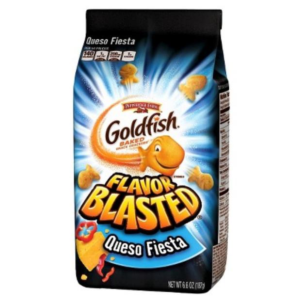Pepperidge Farm Goldfish Queso Fiesta Baked Snack Crackers - 6.6 oz